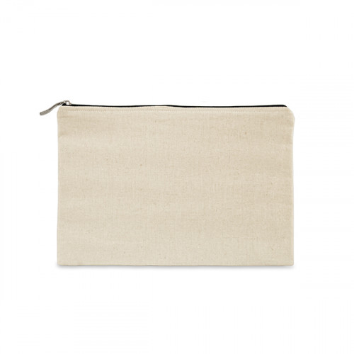 Natural canvas 8oz tablet protector case 25x16cm