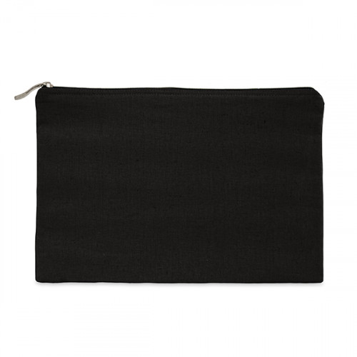 Black canvas 8oz tablet protector case 31x21cm