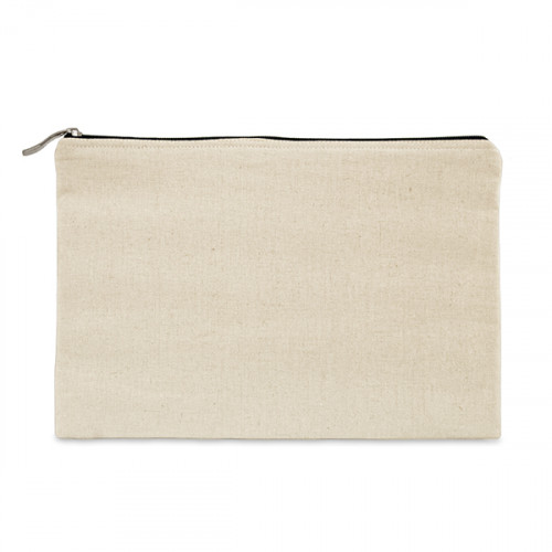 Natural canvas 8oz tablet protector case 31x21cm