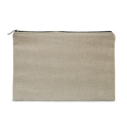 Natural hemp/cotton tablet protector case 31 x 21cm