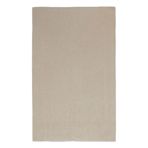 Natural linen Tea Towel 47x74cm hemmed 4 sides. Hanging loop