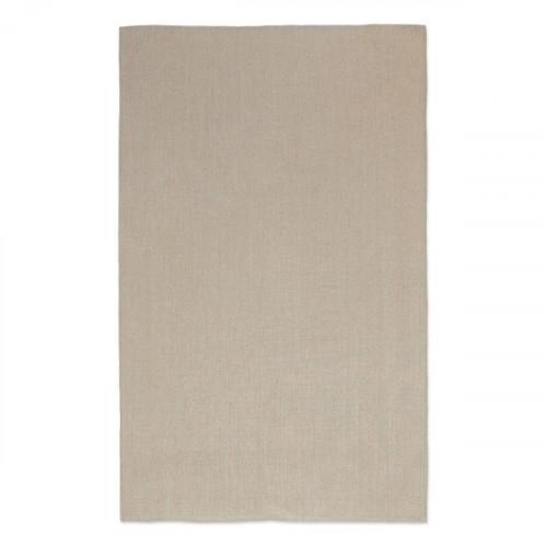 Natural linen Tea Towel 47x74cm hemmed 4 sides. Hanging loop