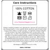 Black cotton short Bar Apron 52x26cm (S) 3 pockets