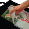 A4 Transfer Paper for Dark Fabrics - peeling