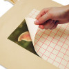 A4 Transfer Paper for Light Fabrics - peeling