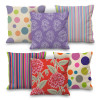 Set of 6 Printed Seconds Cushion Covers in different designs