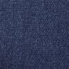 Indigo denim 9oz Musette Bag 40x30cm, 150cm Long black adjustable strap